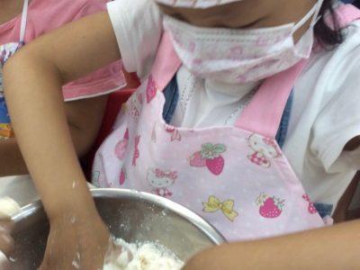 手作りカレーパンを作成!食育活動!